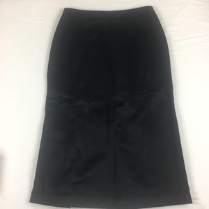 Jill Stuart Black Pencil Skirt Size 2